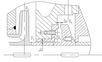 锅炉给水泵平衡盘结构图